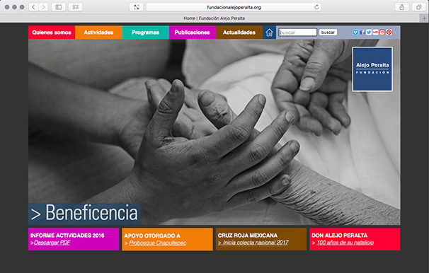 <a href='http://cms.urs-graf.com/index.php?cID=143'>|<<</a>     <a href='http://www.fundacionalejoperalta.org' target='_blank'>> www.fundacionalejoperalta.org</a>